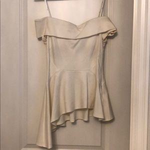 Lulu's asymmetric off the shoulder top
